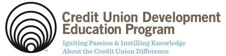 Credit Union Development Education Program